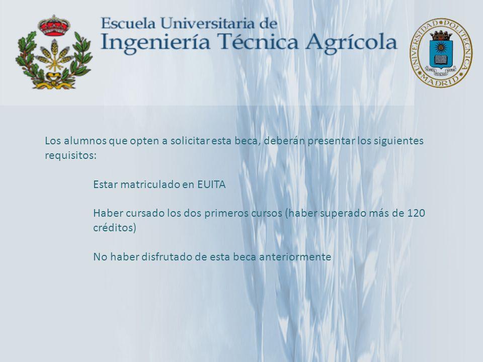ARGENTINA: Universidad Nacional de Cuyo Mendoza 3 plazas de 6 meses SM Acuerdo Bilateral www.uncu.edu.ar – Licenciatura en Bromatología – Ingeniería Agronómica – Ingeniería en Recursos Naturales Renovables – Tecnicatura Universitaria en Enología y Viticultura – Ingeniería en Industrias de la Alimentación