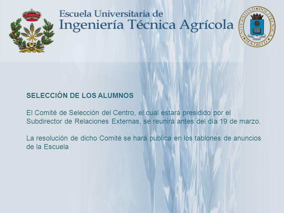 BRASIL: Universidade Estadual de Campinas Campinas 2 plazas de 6 meses www.unicamp.br – Facultad de Ingeniería Agrícola – Facultad de Ingeniería de Alimentos
