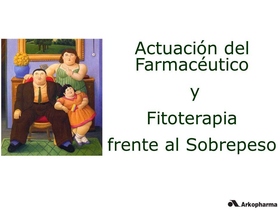 Actuación del Farmacéutico y Fitoterapia frente al Sobrepeso