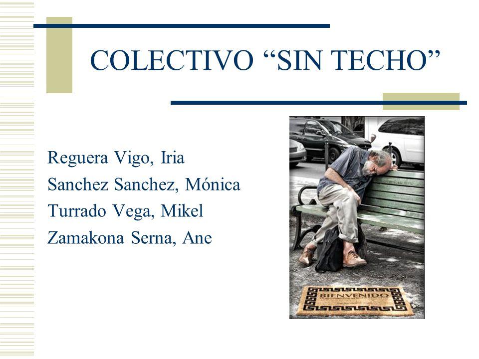 COLECTIVO SIN TECHO Reguera Vigo, Iria Sanchez Sanchez, Mónica Turrado Vega, Mikel Zamakona Serna, Ane