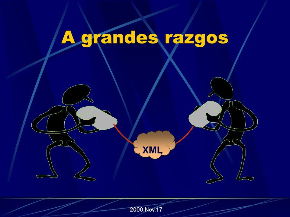 2000.Nov.17 A grandes razgos XML