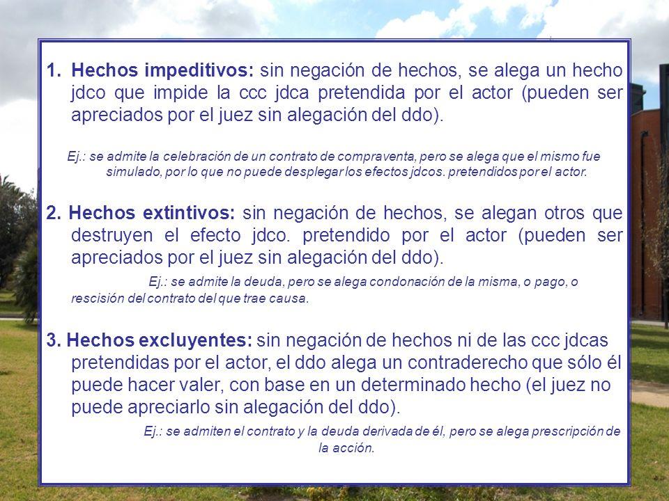 f) CONTESTACIÓN + RECONVENCIÓN (Arts.