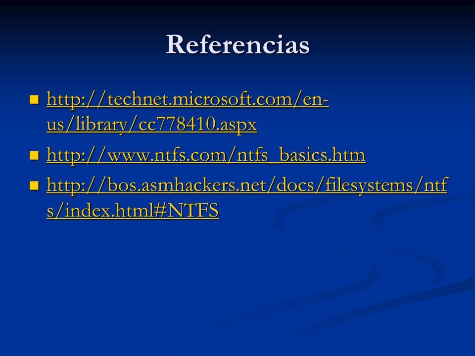 Referencias http://technet.microsoft.com/en- us/library/cc778410.aspx http://technet.microsoft.com/en- us/library/cc778410.aspx http://technet.microso
