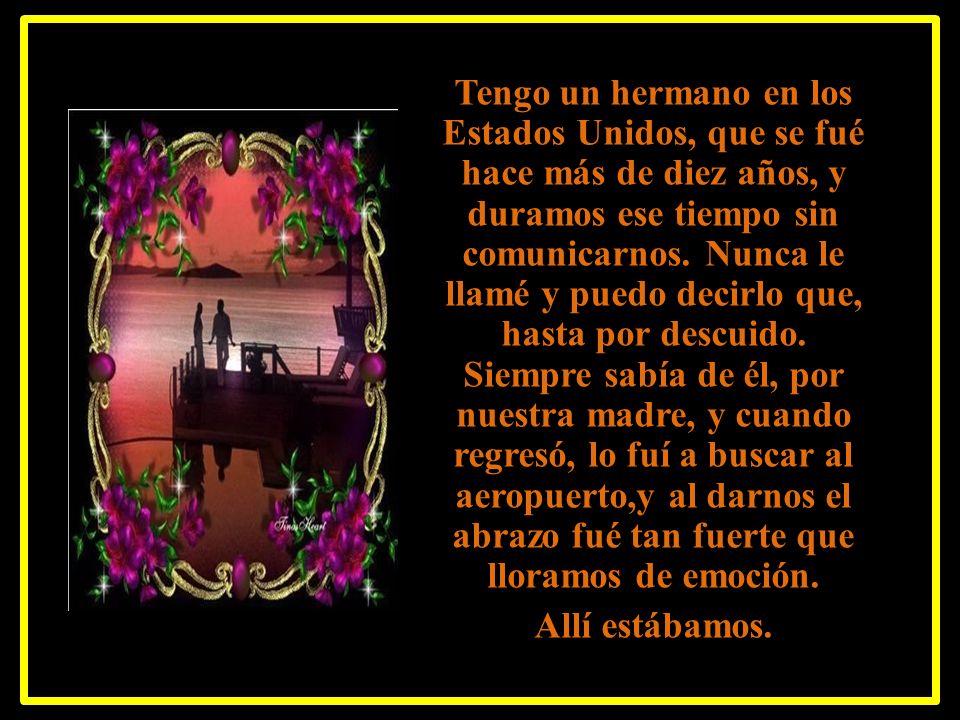 Eso que llamamos AMOR ETERNO, se da en papá, en mamá, en un hijo y en amigos, que también pueden llegar a ser un amor eterno; es decir un amor sin con
