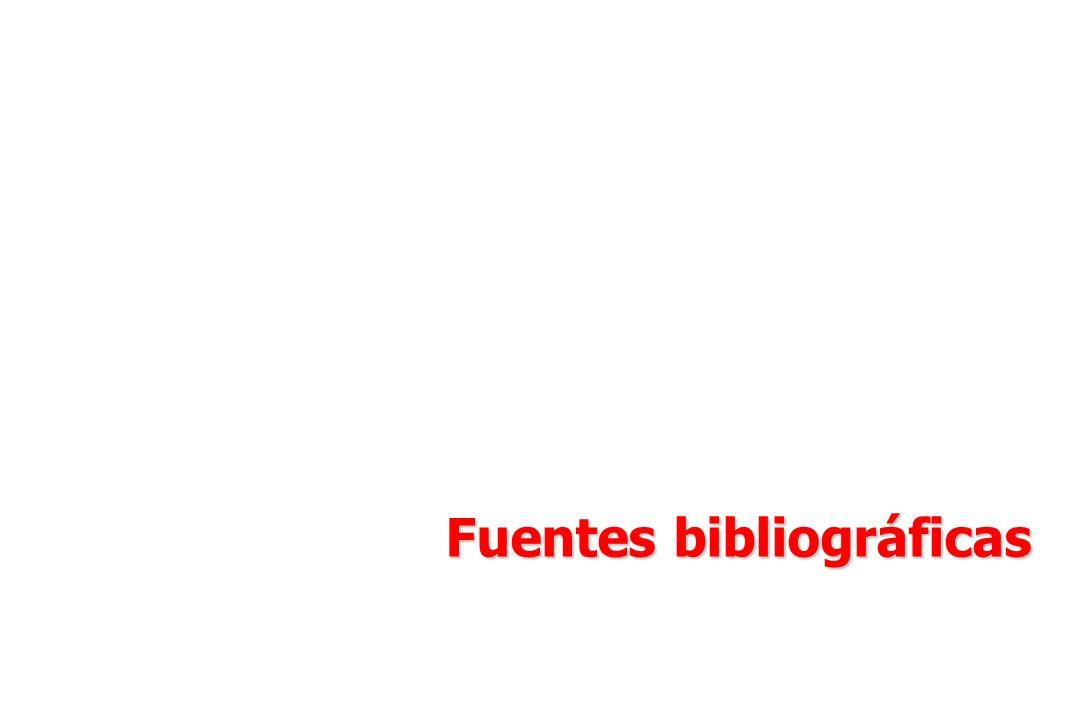 Fuentes bibliográficas