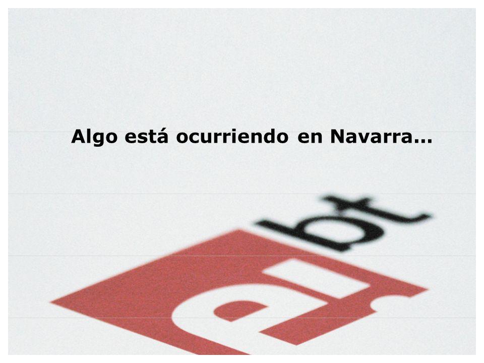 Algo está ocurriendo en Navarra...