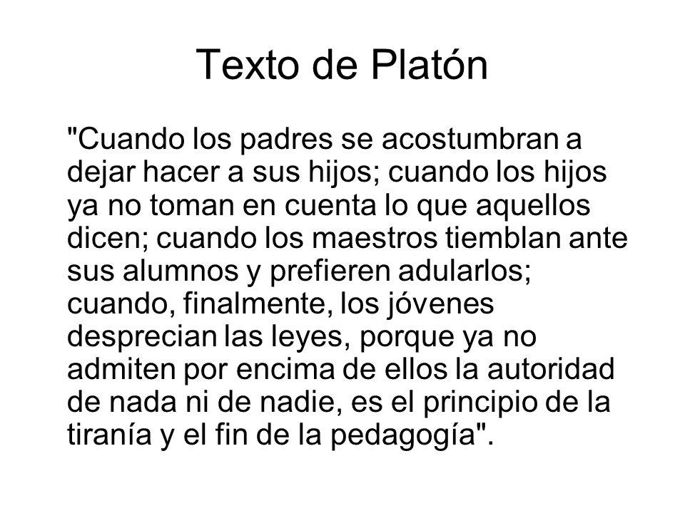 Texto de Platón