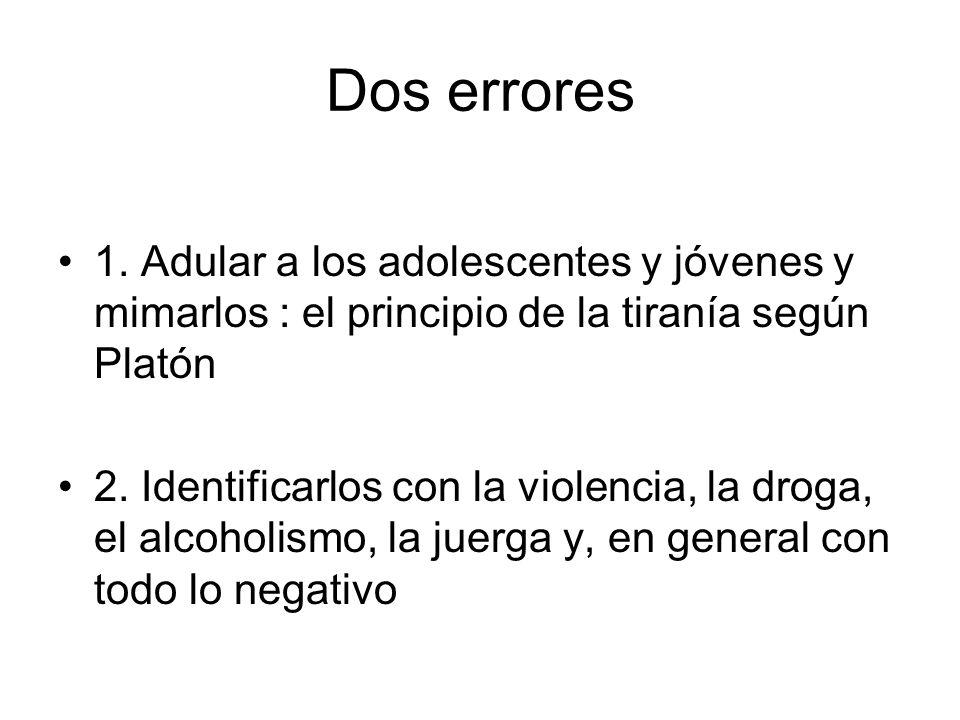 Dos errores 1.