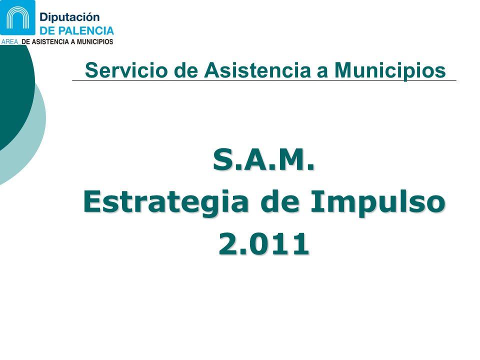 Servicio de Asistencia a Municipios S.A.M. Estrategia de Impulso 2.011