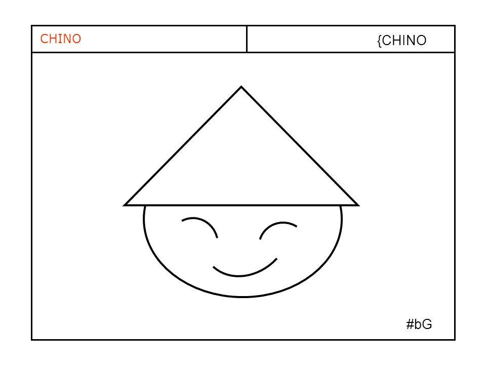 CHINO {CHINO #bG