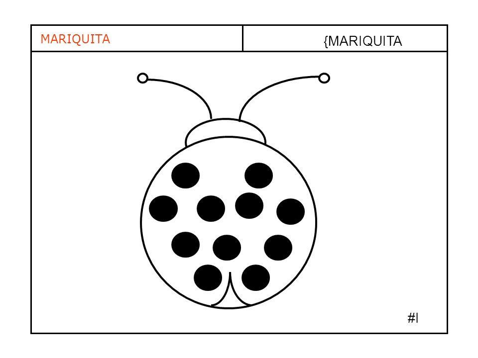{MARIQUITA MARIQUITA #I