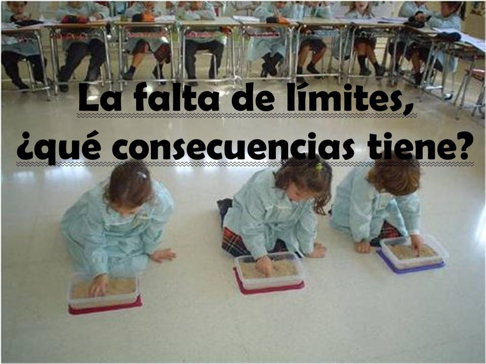 La falta de límites, ¿qué consecuencias tiene?