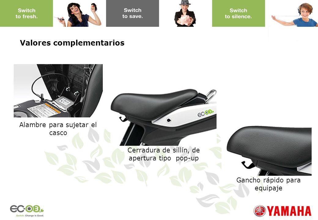 Alambre para sujetar el casco Cerradura de sillín, de apertura tipo pop-up Gancho rápido para equipaje Valores complementarios