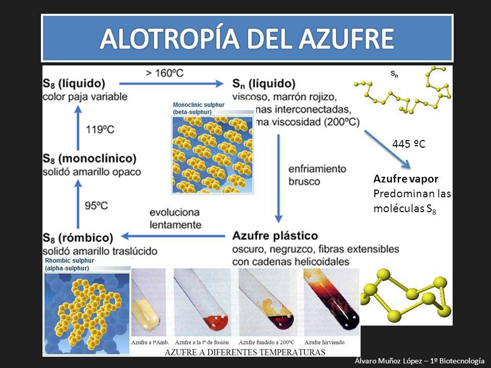 El azufre esta bastamente distribuido en la naturaleza, ya sea como azufre libre o nativo o como combinado.
