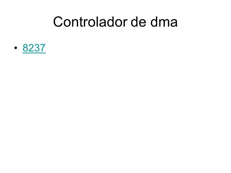 Controlador de dma 8237