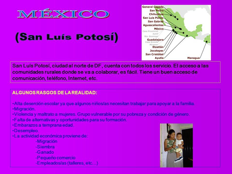 San Luís Potosí, ciudad al norte de DF, cuenta con todos los servicio.