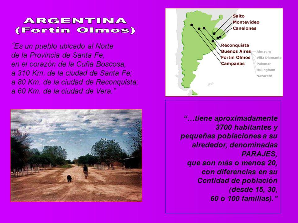 Es un pueblo ubicado al Norte de la Provincia de Santa Fe, en el corazón de la Cuña Boscosa, a 310 Km.