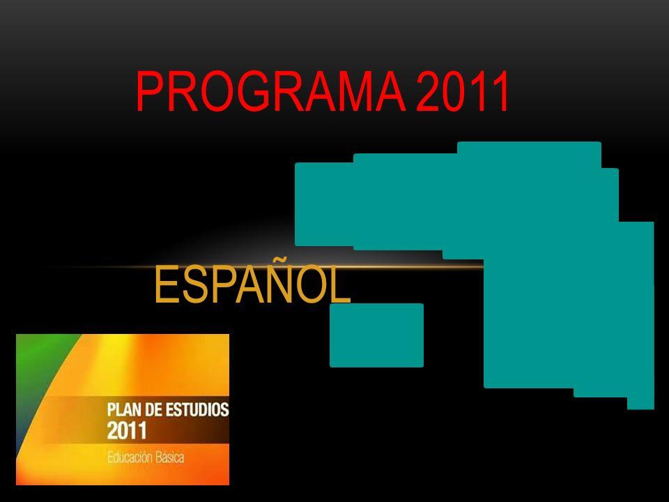 ESPAÑOL PROGRAMA 2011