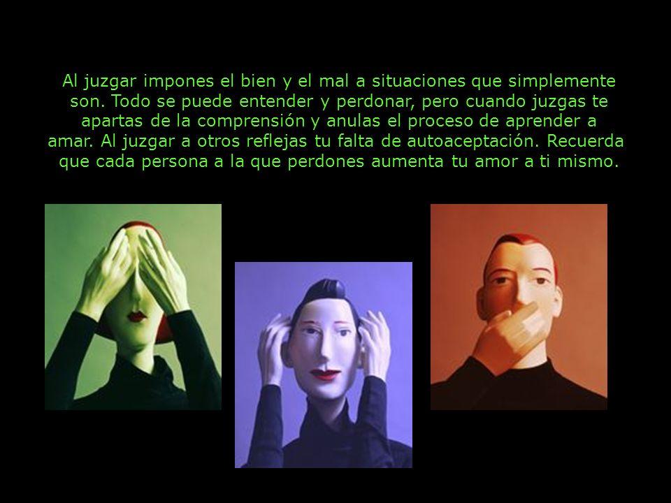 7 Libérate de la carga de los juicios; te sentirás mucho más ligero.