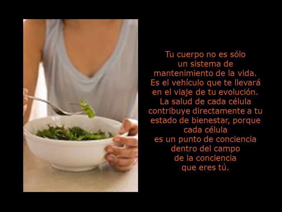 8 No contamines tu cuerpo con toxinas, ya sea por la comida, la bebida o por emociones tóxicas.