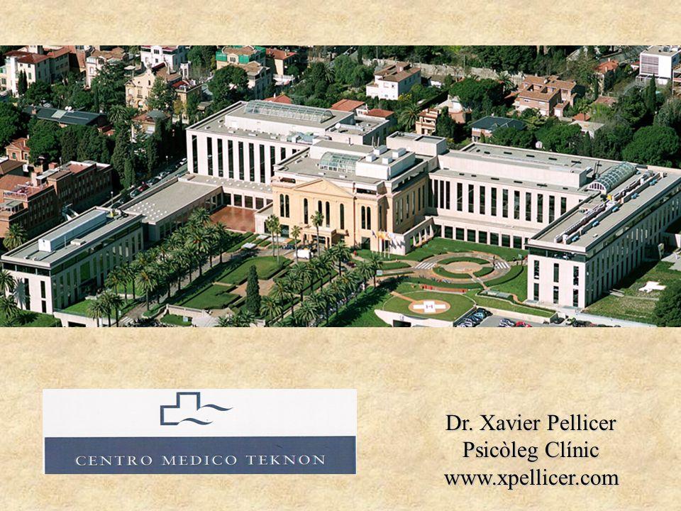 Dr. Xavier Pellicer Psicòleg Clínic www.xpellicer.com