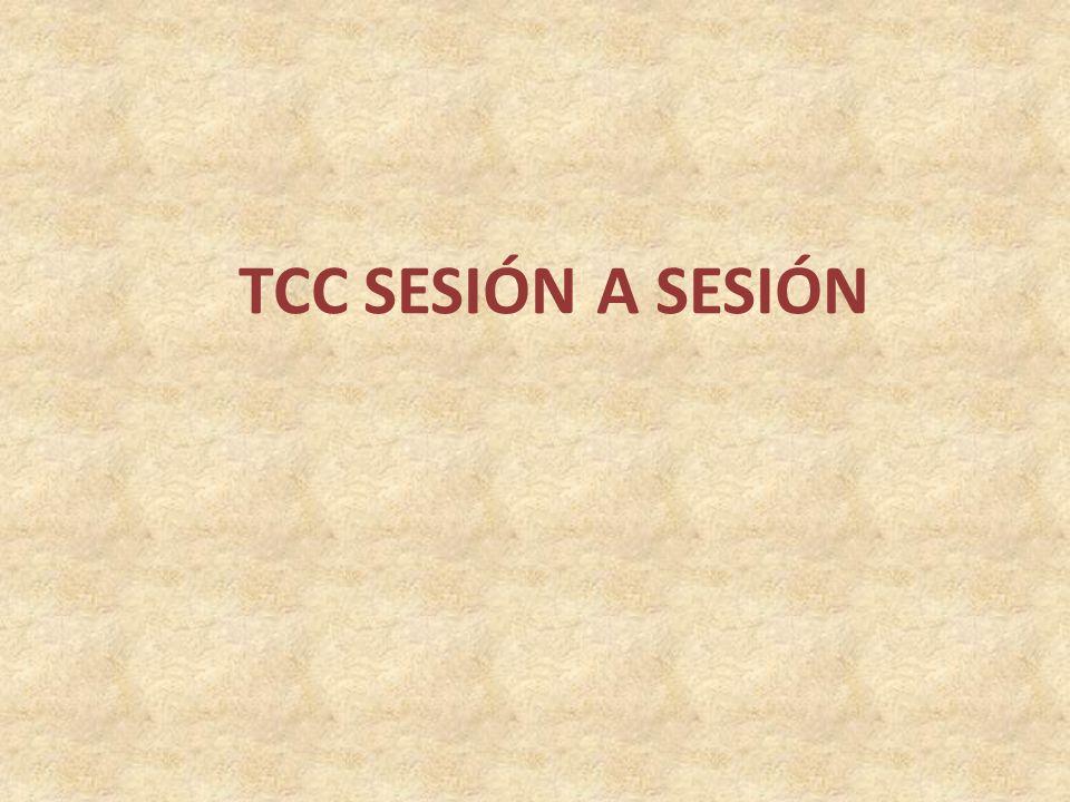 TCC SESIÓN A SESIÓN