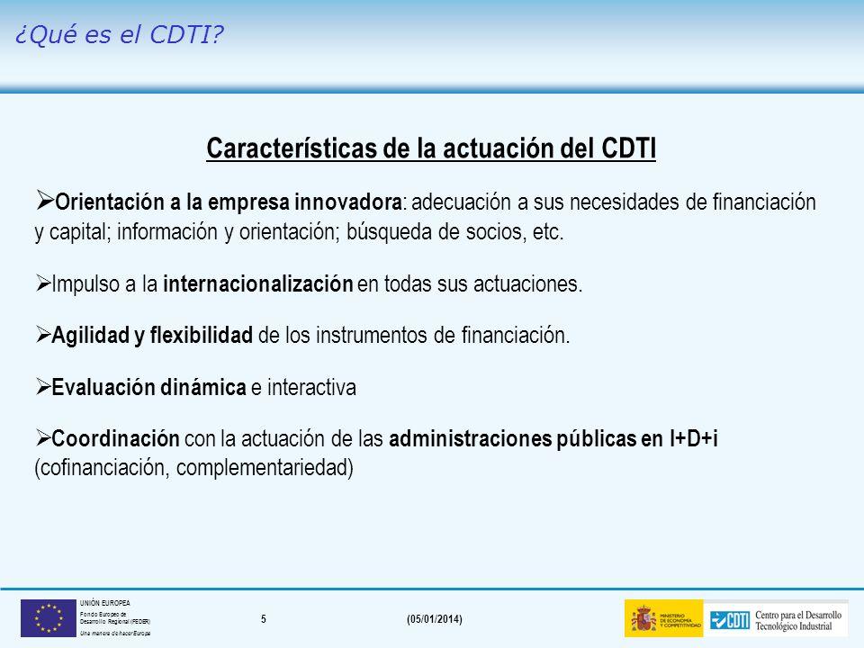 4(05/01/2014) UNIÓN EUROPEA Fondo Europeo de Desarrollo Regional (FEDER) Una manera de hacer Europa Evolución del nº de operaciones aprobadas por CDTI