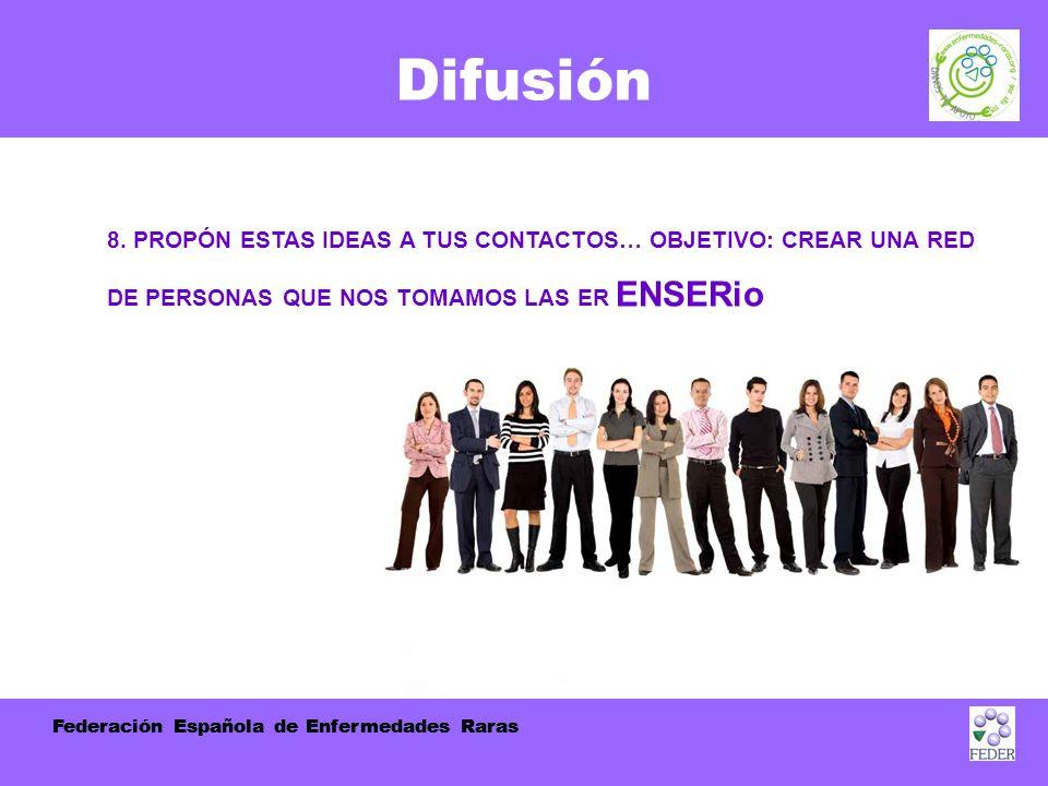 Federación Española de Enfermedades Raras Difusión 8.