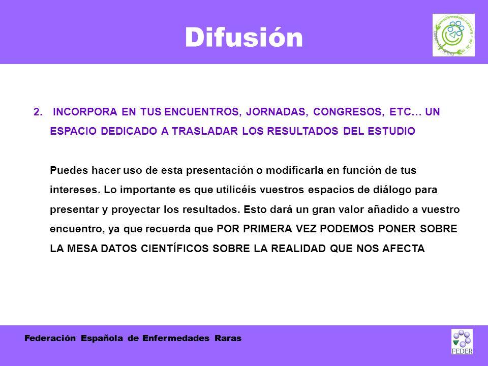 Federación Española de Enfermedades Raras Difusión 2.
