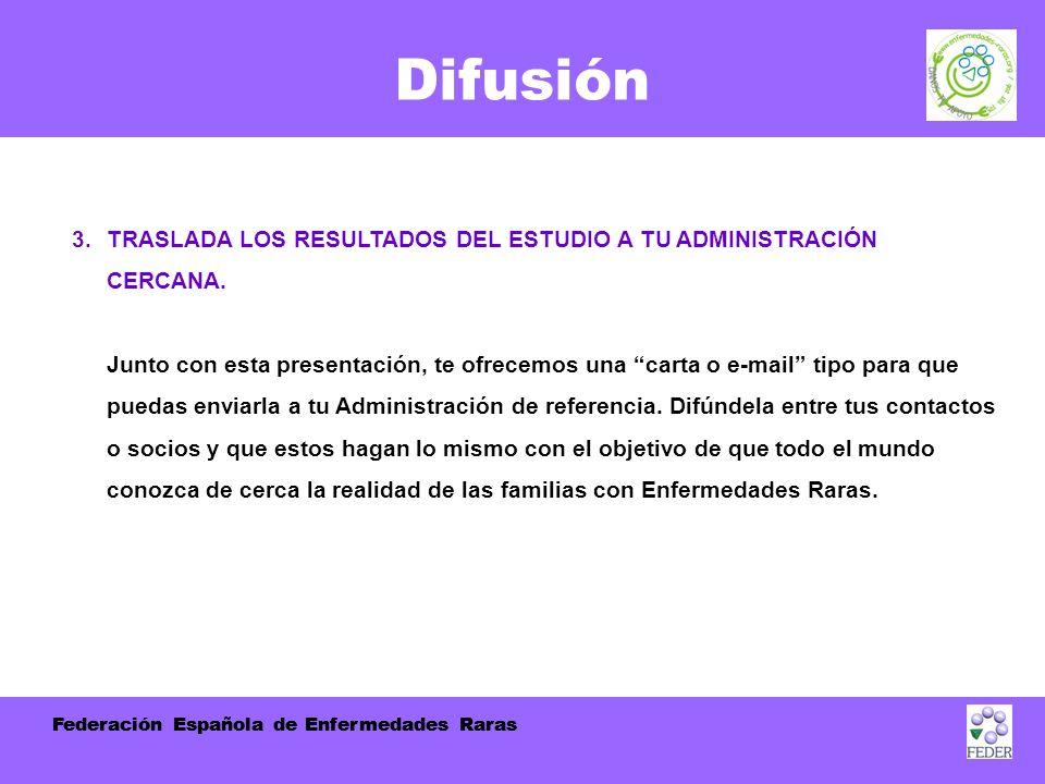 Federación Española de Enfermedades Raras Difusión 3.
