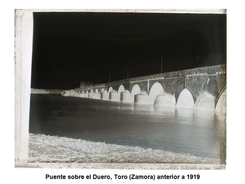 Puente sobre el Duero, Toro (Zamora) anterior a 1919