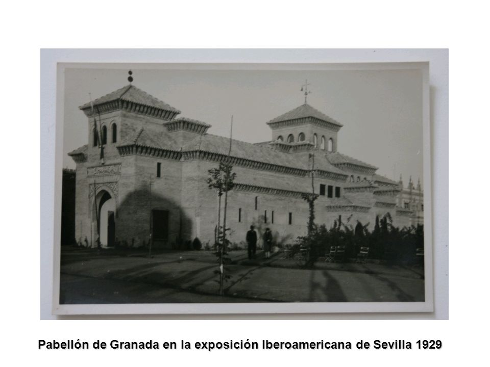 Pabellón de Granada en la exposición Iberoamericana de Sevilla 1929
