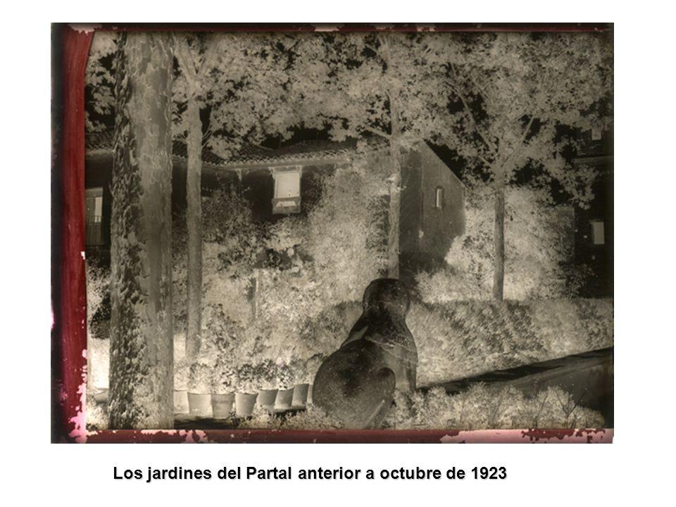 Restauración del Partal entre julio y septiembre de 1923