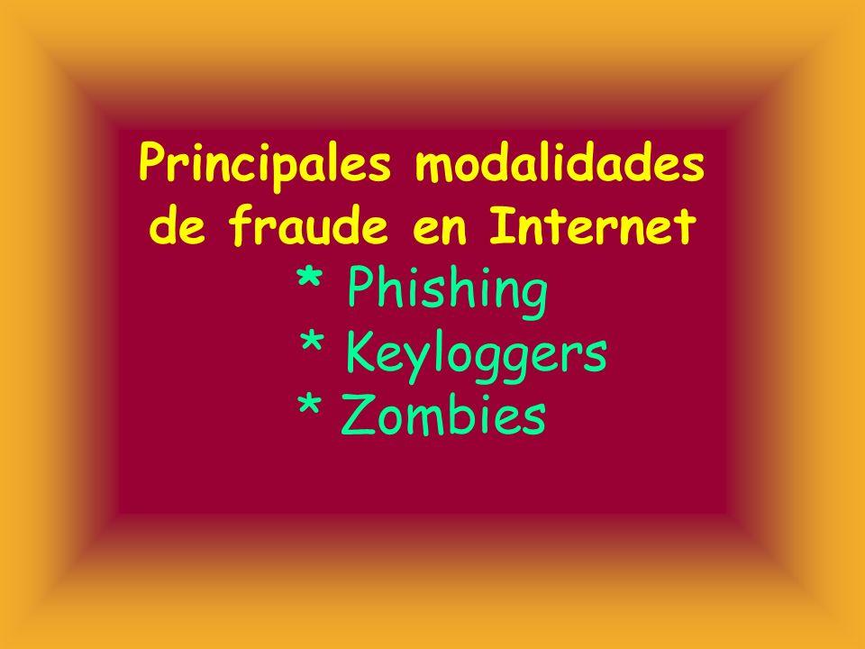 Phishing * Técnicas de phishing * blanqueo de dinero producto del phishing * daños causados por el phishing