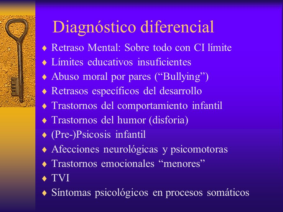Casos elegidos al azar con diagnóstico de TDAH Nº historia GéneroEdadDiagnóstico/ Tratamiento Diagnóstico clínico 811H11TDAH/MFInmadurez/TC/Falta límites 1484H12TDAH/MFRM (moderado) 1532H14TDAH/MFTP/Familia disfuncional 1562H11TDAH/MFRM (límite-moderado) 1692H10TDAH/MFRM (moderado) 2164H9TDAH/MFCI límite/Situación social depauperada 2760H7TDAH/MFFalta límites (regresión)/Celos hno.