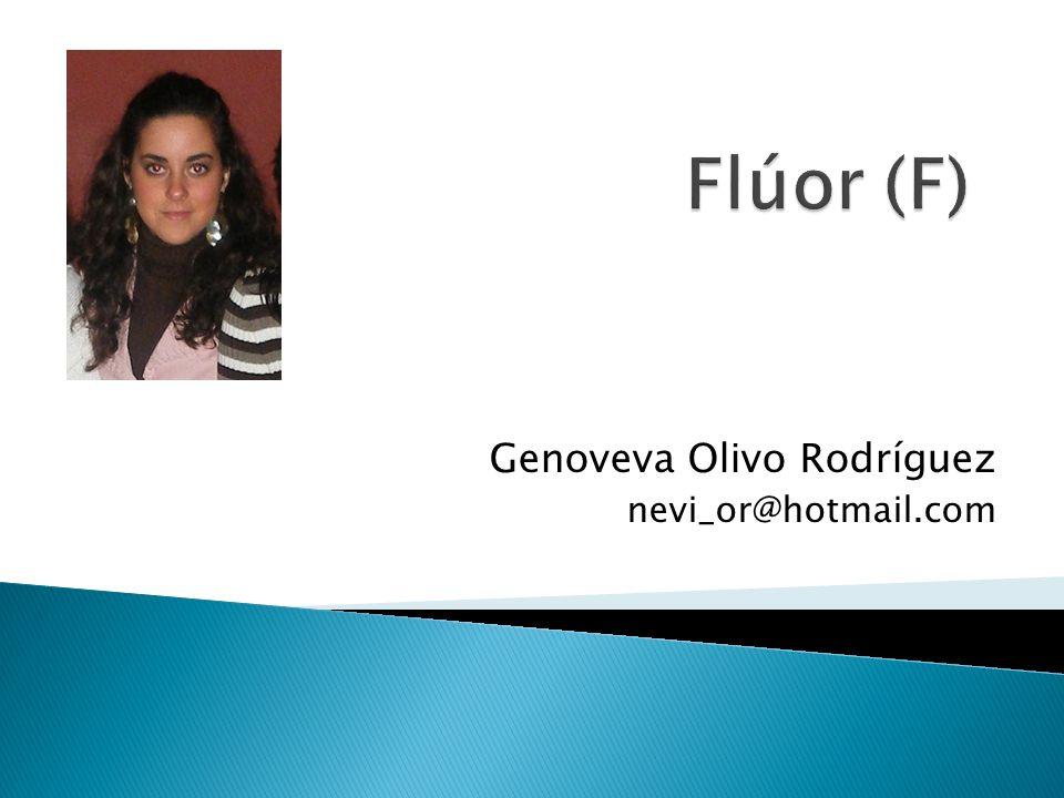 El flúor, formando parte del mineral fluorita, CaF 2, fue descrito en 1529 por Georgius Agricola, empleado para conseguir la fusión de metales o minerales.