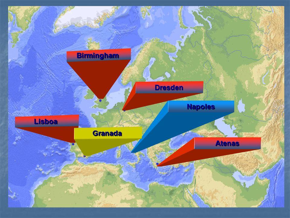 Grupo Andaluz de Investigación en Salud Mental, Univ. de Granada Birmingham Dresden Napoles Lisboa Atenas Granada
