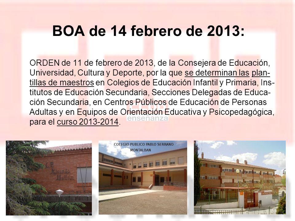 Base legal de la Orden Art.73 Estatuto de Autonomía de Aragón Art.