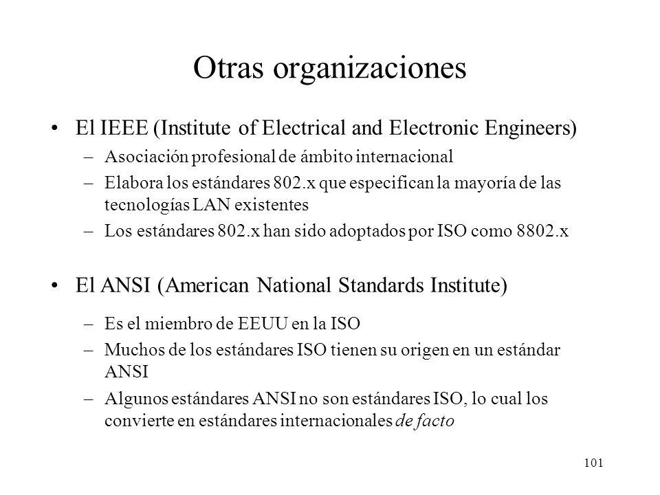 100 Foros Industriales Son grupos de interés sobre una tecnología formados por fabricantes, operadores de telecomunicaciones, universidades, etc. Naci