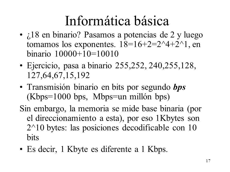 16 Dividiendo por 2. Por ejemplo 12. 12 2 De decimal a binario 06 3 2 02 11 Leyendo ultimo cociente y restos de derecha a izquierda 12 en decimal es i