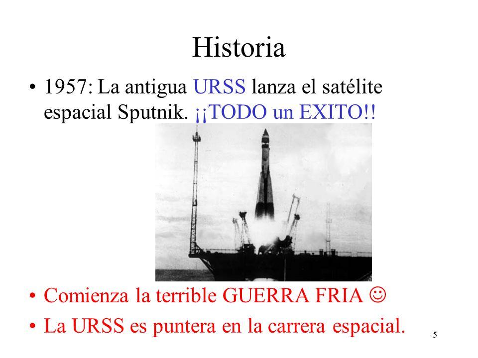 4 Historia 1838: MORSE desarrolla la comunicación en largas distancias 1965: Se realizan las primeras pruebas de comunicación por línea telefónica ent