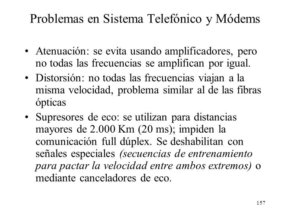 156 Establecimiento de una comunicación telefónica de media o larga distancia Central Telefónica final Central Telefónica final Central Telefónica de
