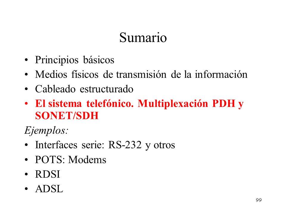98 Ejemplo de cableado estructurado Universidad de Valencia Las instalaciones de la Universidad de Valencia se realizan actualmente con los siguientes
