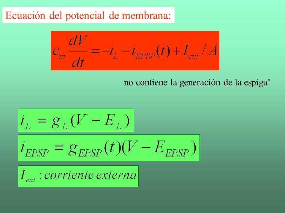 KSJ-F11.17A EPSP Corrientes Trazas temporales del EPSP y de las corrientes