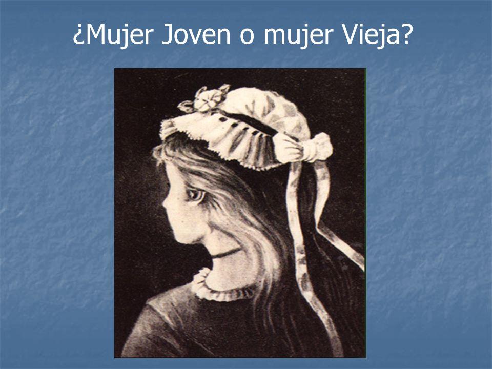 ¿Mujer Joven o mujer Vieja?