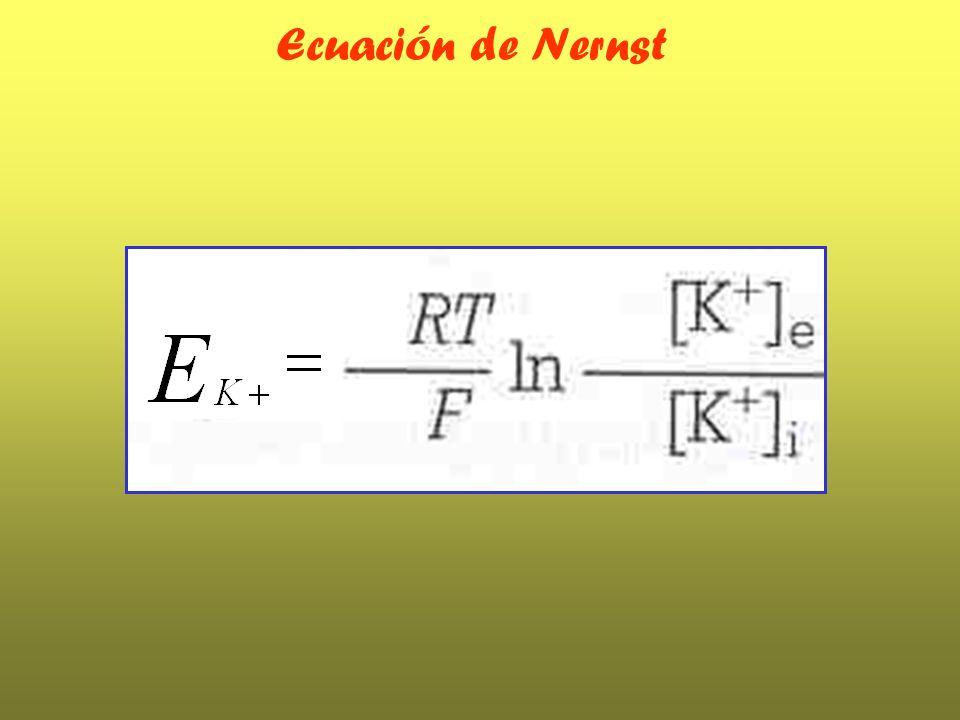 Ecuación de Nernst
