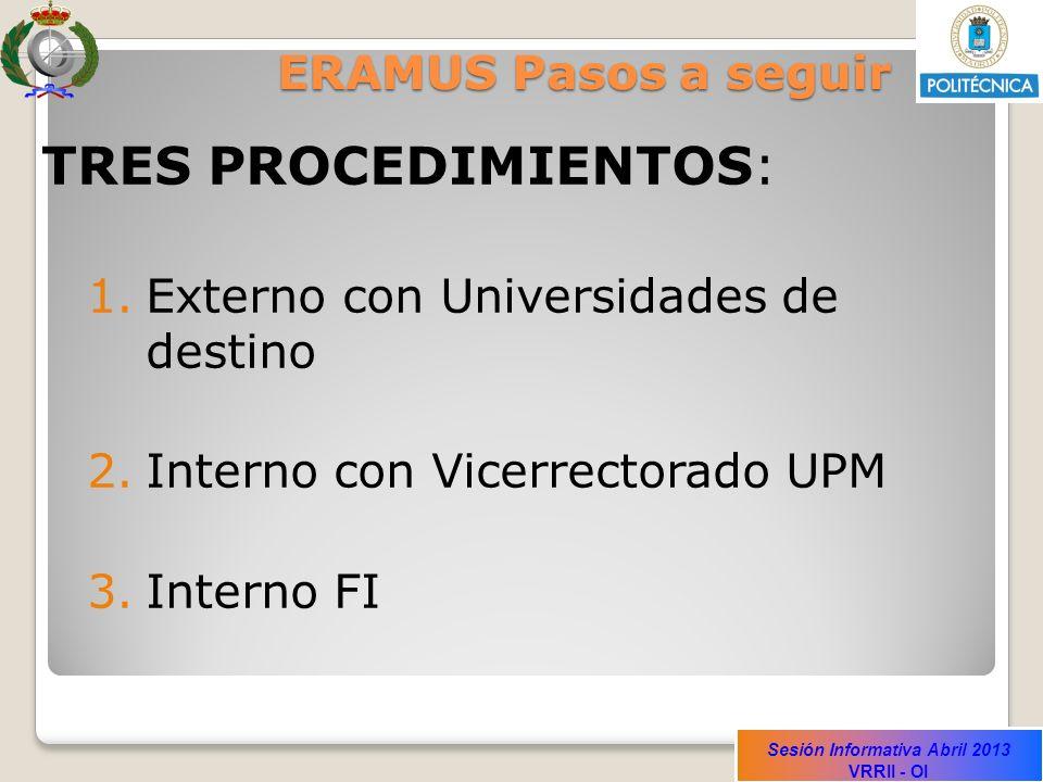 Sesión Informativa Abril 2013 VRRII - OI Responsabilidades del estudiante A la finalización de la estancia en la U.D.