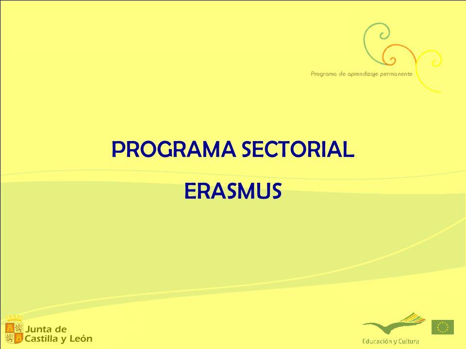 PROGRAMA SECTORIAL ERASMUS