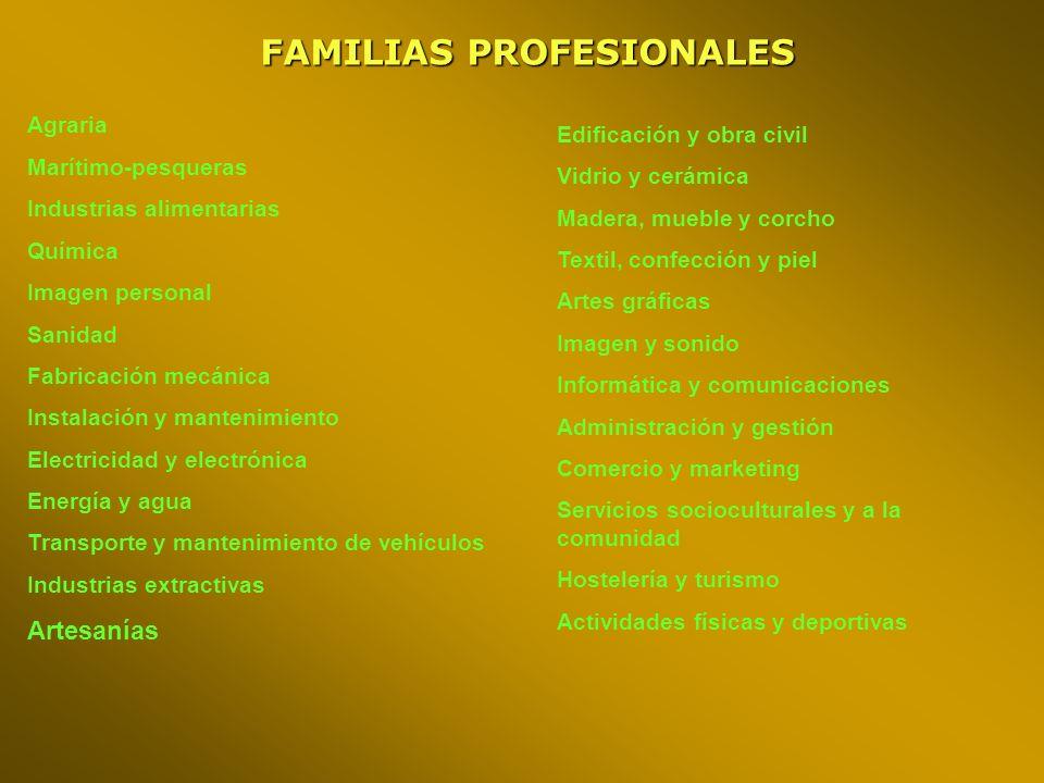 OFERTA MODULAR Orden de 6 de marzo de 2003 Dirigida: a personas adultas, trabajadores o desempleados, para adquisición y ampliación de capacidades.