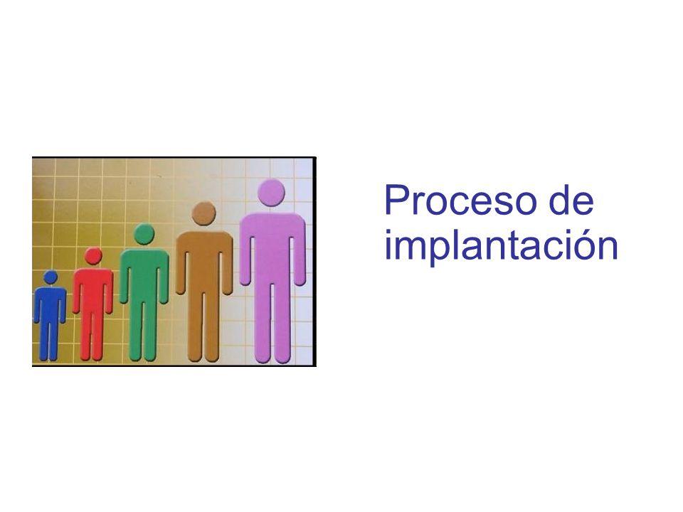 Diapositiva 94 Proceso de implantación